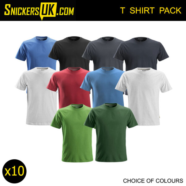 Snickers 2502 Classic T Shirt Pack