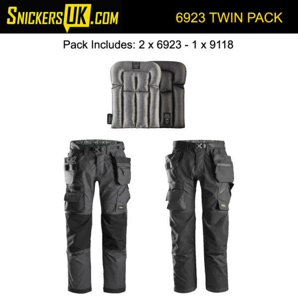 Snickers 6923 FlexiWork FloorLayers Holster Pocket Trousers