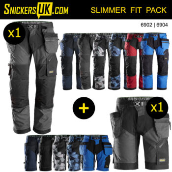 Snickers FlexiWork Holster Pocket Trousers & Shorts Pack