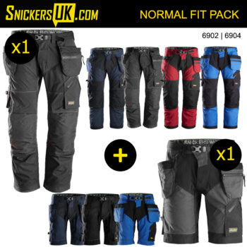 Snickers FlexiWork Holster Pocket Trousers & Shorts