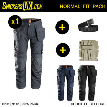 Snickers 6201 AllRoundWork Holster Pocket Trousers Pack