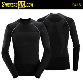 Snickers 9418 LiteWork Seamless 37.5® Long Sleeve Shirt