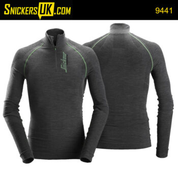 Snickers 9441 FlexiWork Seamless Wool Long Sleeve Shirt