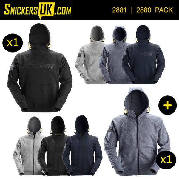 Snickers Logo Hoodie Pack