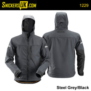 Snickers 1229 AllRoundWork Soft Shell Hooded Jacket