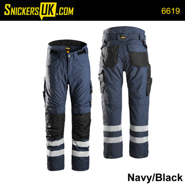 Snickers 6619 AllRoundWork 37.5 Insulated Trousers