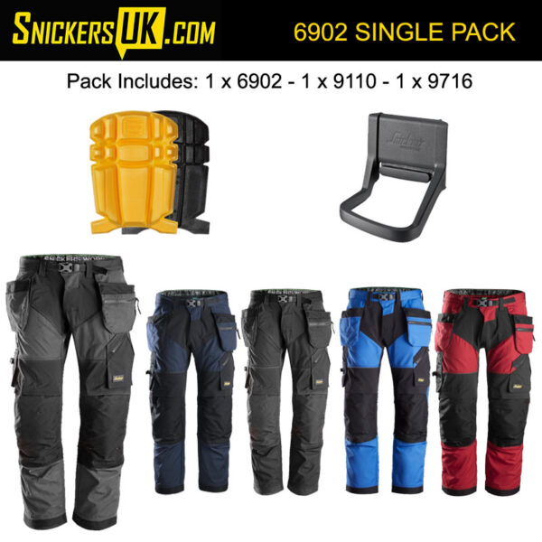 Snickers 6902 FlexiWork Holster Pocket Trousers Pack