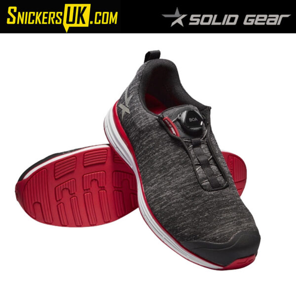 Solid Gear Haze Safety Trainer - Mars (Red)