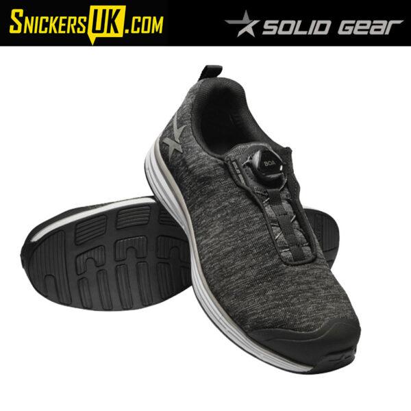 Solid Gear Haze Safety Trainer - Moon (Grey)