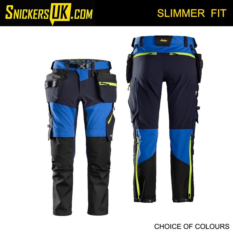 Snickers 6940 FlexiWork Soft Stretch Holster Pocket Trousers