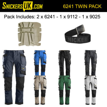 Snickers 6241 AllRoundWork Stretch Holster Pocket Trousers Pack