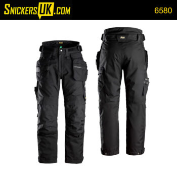 Snickers 6580 FlexiWork Gore-Tex 37.5 Insulated Holster Pocket Trousers