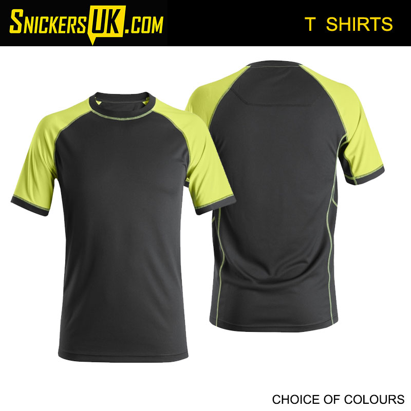 Snickers 2505 Neon T Shirt