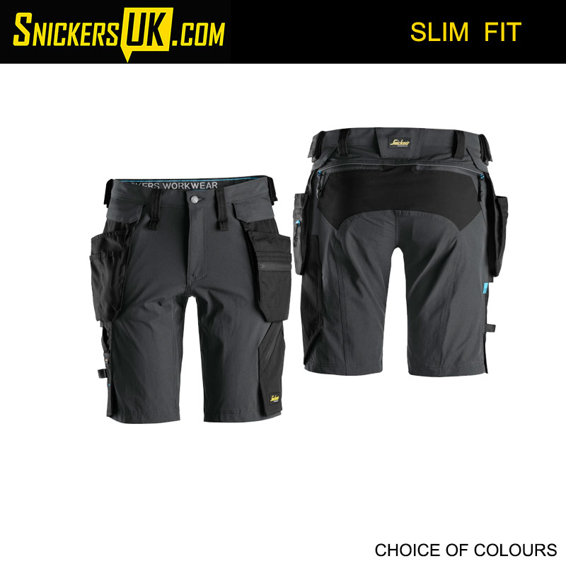 Snickers 6108 LiteWork Detachable Holster Pocket Shorts