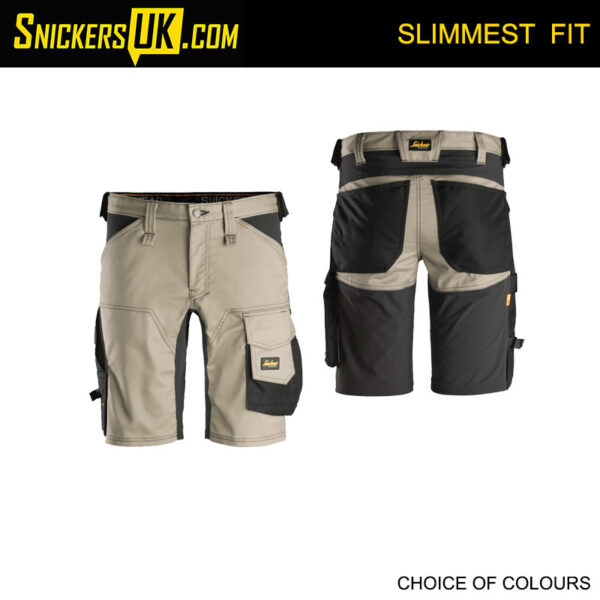 Snickers 6143 AllRoundWork Slim Fit Stretch Non Holster Shorts