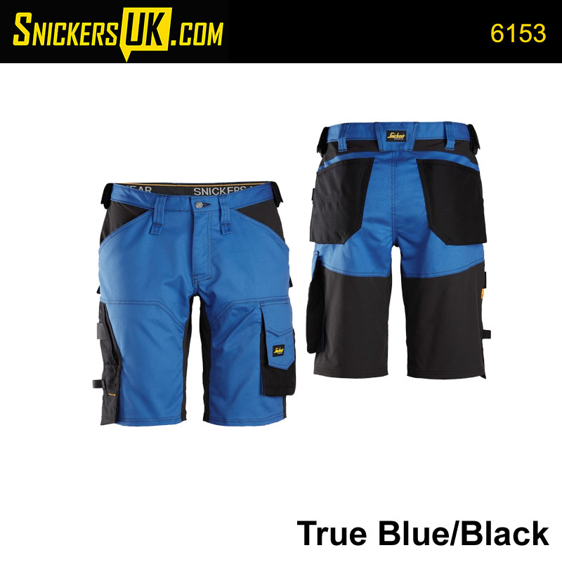 Snickers 6153 AllRoundWork Loose Fit Stretch Non Holster Pocket Shorts
