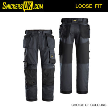 Snickers 6251 AllRoundWork Stretch Loose Fit Holster Pocket Trousers