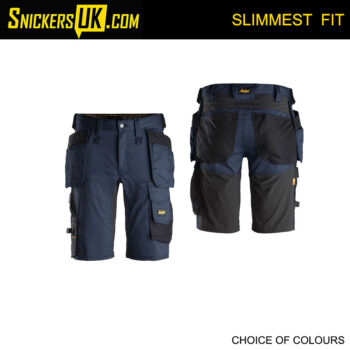 Snickers 6141 AllRoundWork Slim Fit Stretch Holster Pocket Shorts