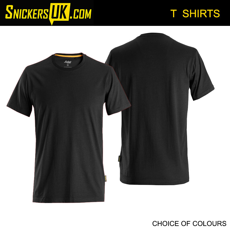Snickers 2526 AllRoundWork Organic Cotton T Shirt