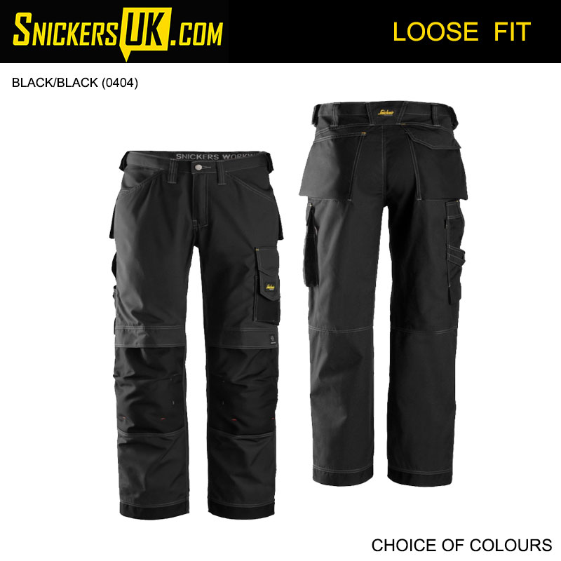 Snickers 3313 Rip Stop Non Holster Pocket Trousers