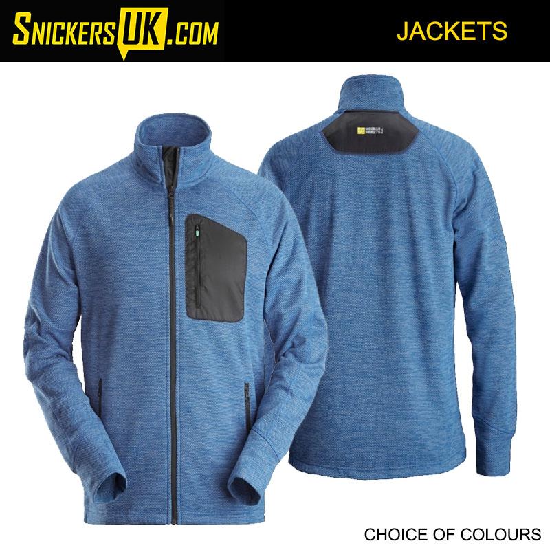 Snickers 8042 FlexiWork Fleece Jacket - Snickers Workwear