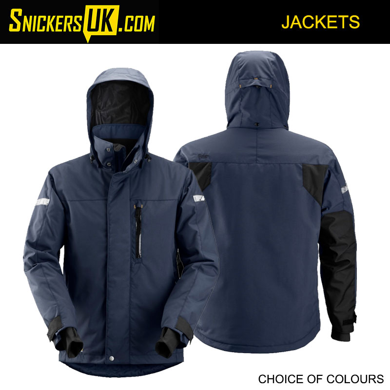 Snickers 1102 AllRoundWork Waterproof 37.5 Insulated Jacket | Snickers Jackets
