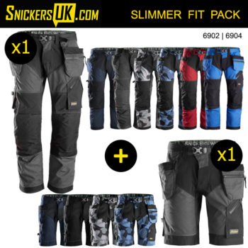 Snickers FlexiWork 6902 Holster Pocket Trousers
