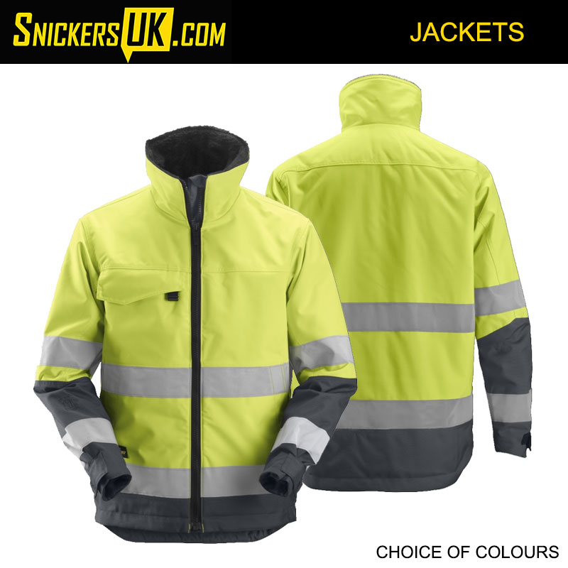 Snickers 1138 Core Hi Vis Insulated Jacket | Snickers Insulated Hi-Vis Jackets