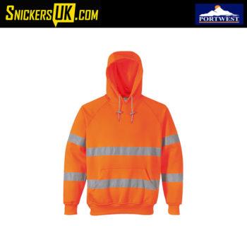 Portwest B304 Hi Vis Hooded Sweatshirt