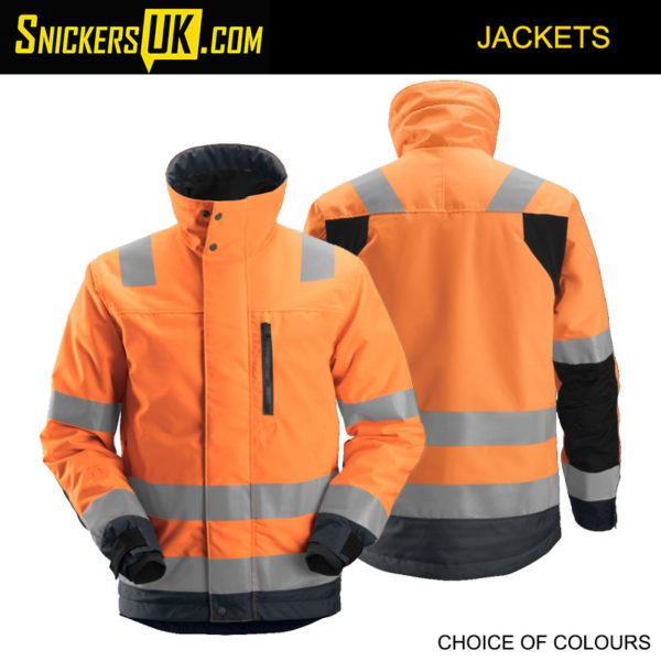 Snickers 1130 Allround Work High-Vis 37.5® Insulated Jacket | Snickers Hi-Vis Jackets