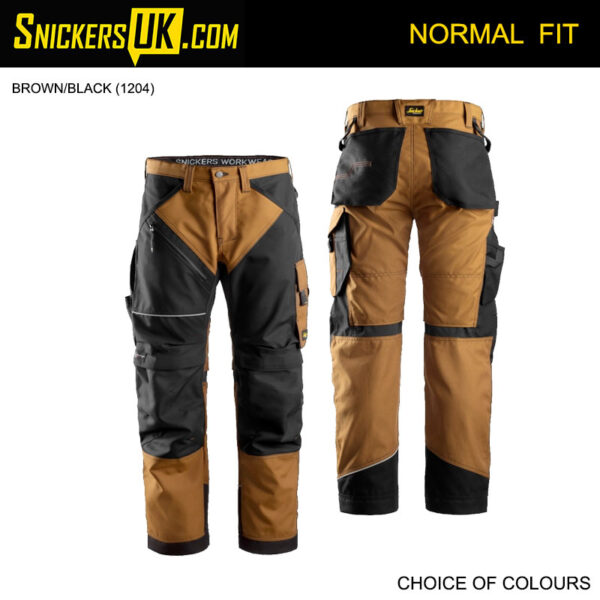 Snickers 6303 RuffWork Non Holster Pocket Trousers