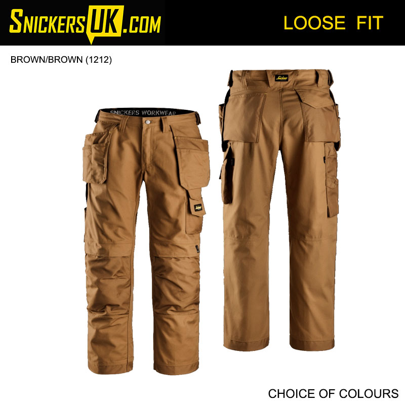 Snickers 3214 Canvas+ Holster Pocket Trousers