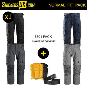 Snickers 6801 Service Line Trousers Pack