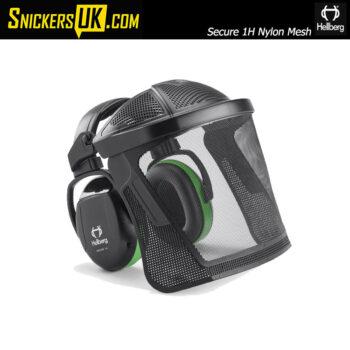 Hellberg Secure 1H Nylon Mesh Visor