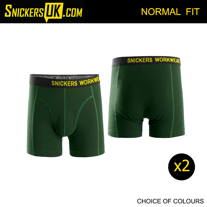 Snickers 9436 2 Pack Stretch Black Shorts