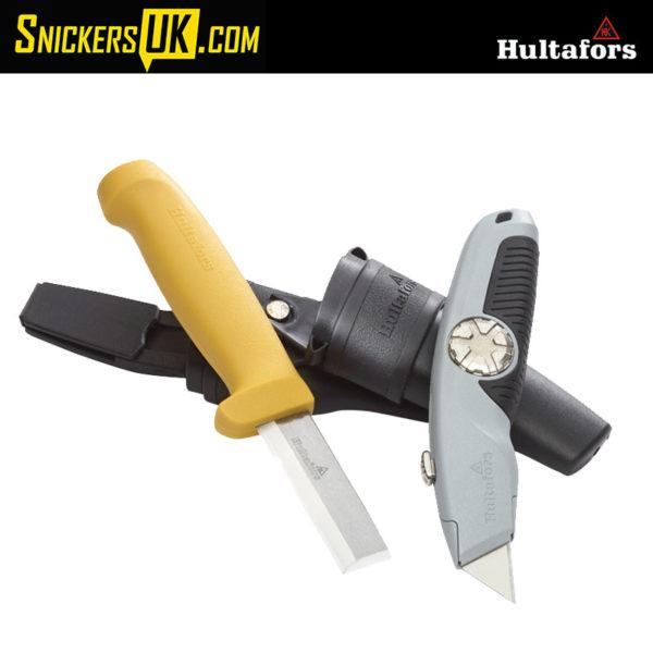 Hultafors STK Chisel Knife & URA Utility Knife