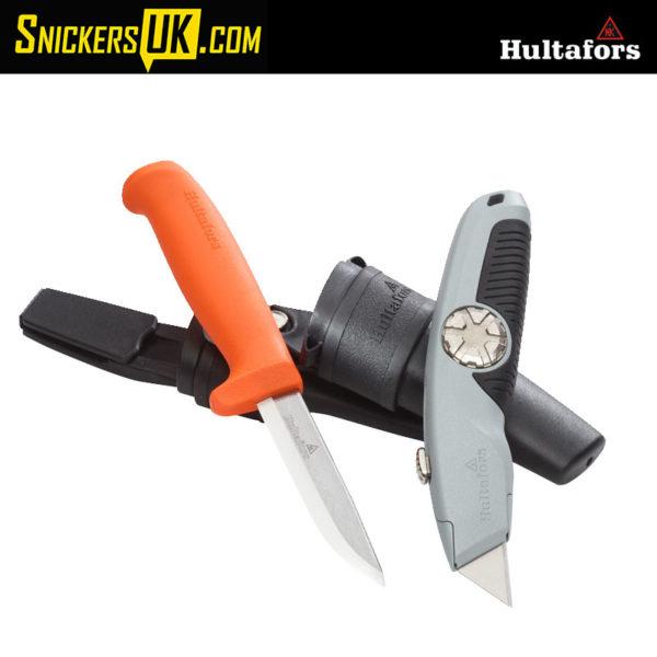 Hultafors HVK Craftsmen's Knife & URA Utility Knife