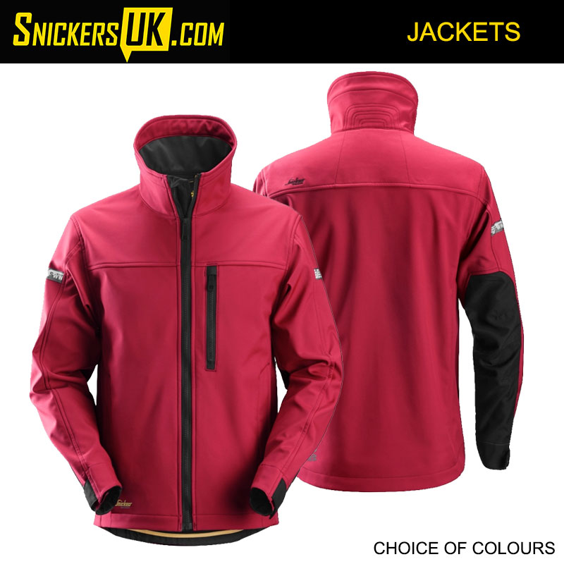 Snickers 1200 AllRoundWork Soft Shell Jacket | Snickers Jackets