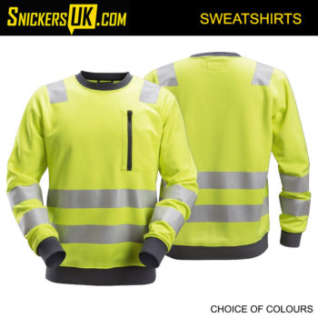 Snickers 8037 AllRoundWork High Vis Sweatshirt