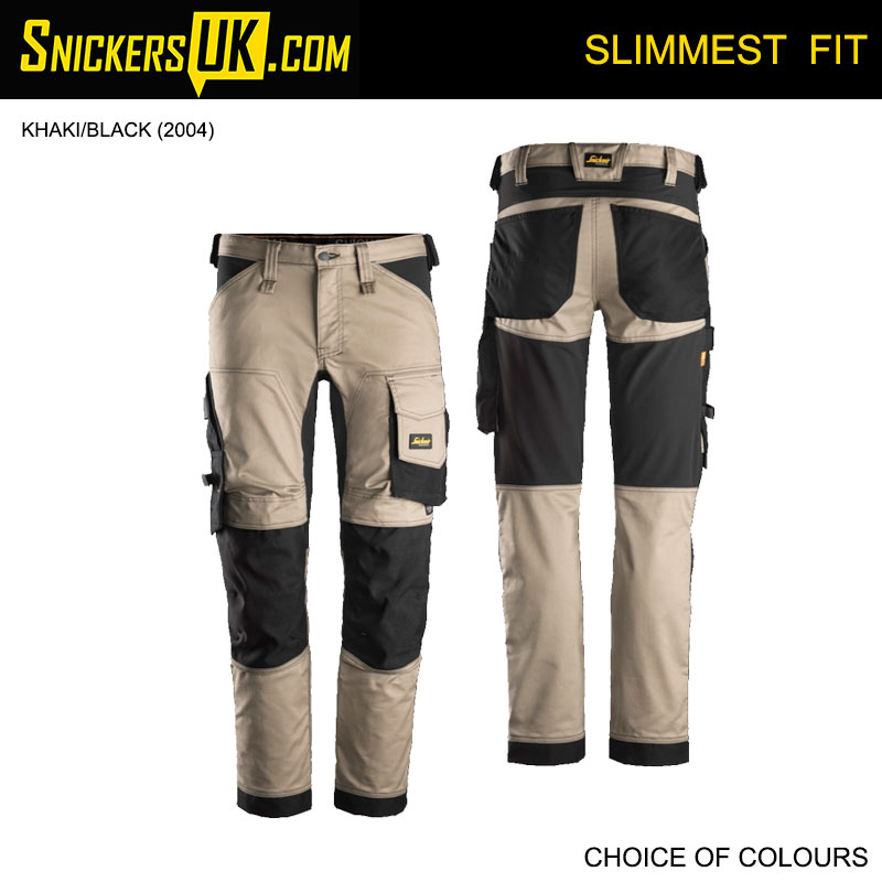 Snickers 6341 AllRoundWork Stretch Non Holster Pocket Trousers