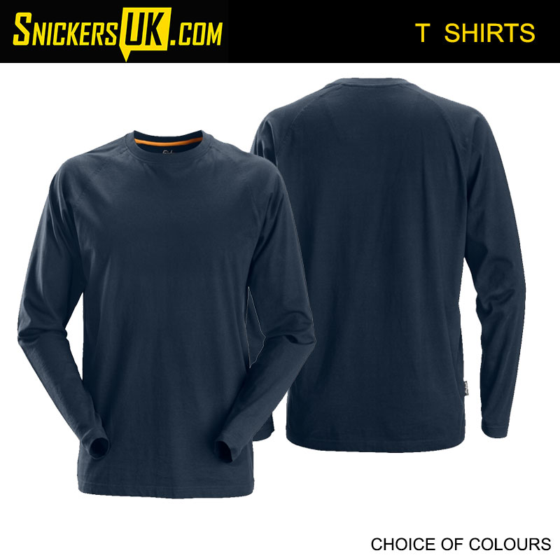 Snickers 2410 AllRoundWork Long Sleeve T Shirt