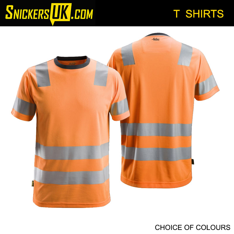 Snickers 2530 AllRoundWork High Vis T Shirt