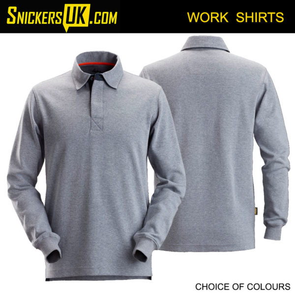 Snickers 2612 Rugby Shirt | Snickers Workwear