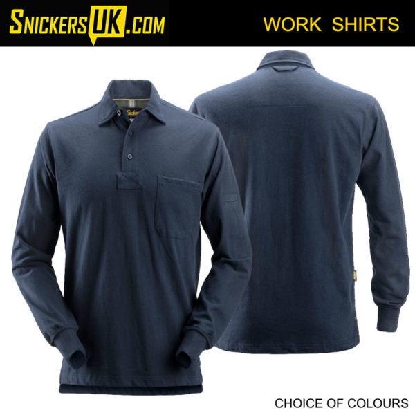 Snickers 2712 Rugby Shirt | Snickers Workwear Shirts