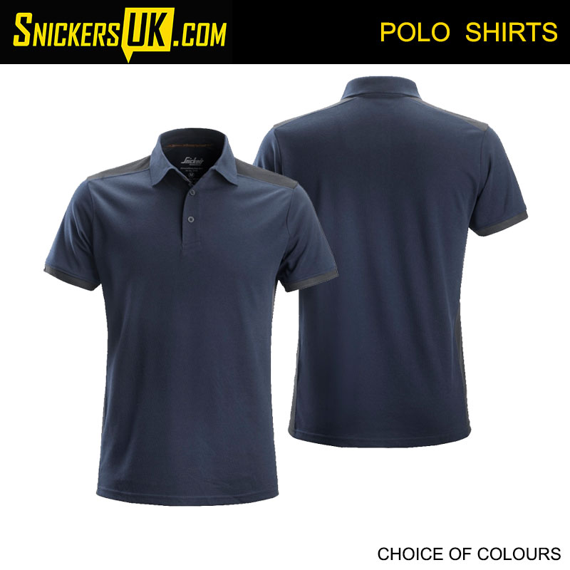 Snickers Workwear 27159558009 Snickers T Polo Shirt AllroundWork Gr/ö/ße XXXL in marineblau//stahlgrau Navy