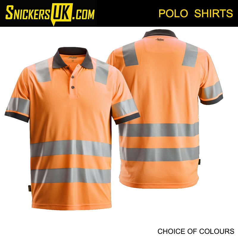 Snickers 2730 AllRoundWork High Vis Polo Shirt