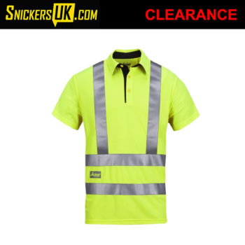 Snickers 2743 High Vis AVS Polo Shirt