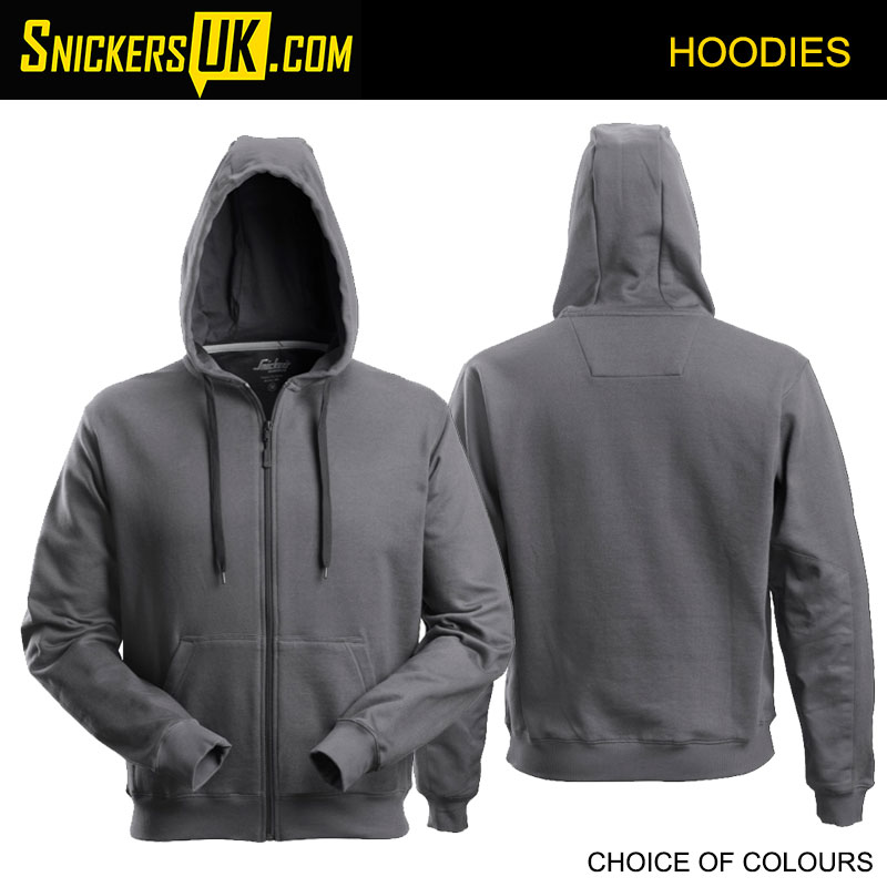 Snickers 2801 Classic Zipped Hoodie - Snickers Hoodies