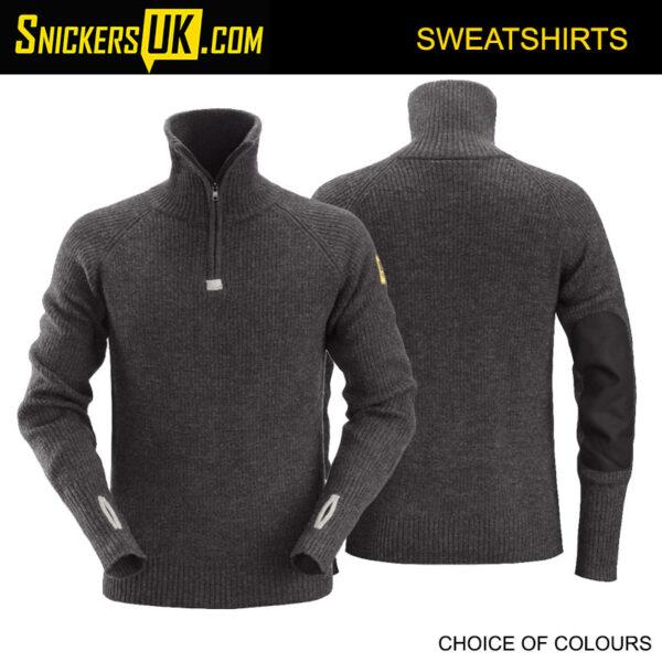 Snickers 2905 ½ Zip Wool Sweater