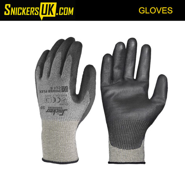 Snickers 9326 Power Flex Cut 5 Gloves - Snickers Gloves